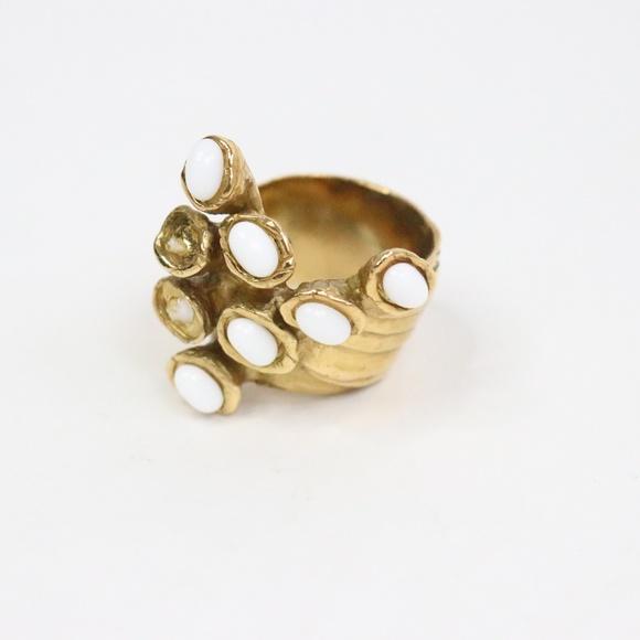adc73561a09 Yves Saint Laurent Jewelry | Artsy Ring Sz 7 U008 | Poshmark